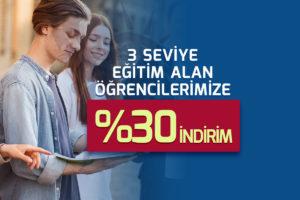 Read more about the article 3 Seviye İngilizce Eğitimine %30 İndirim