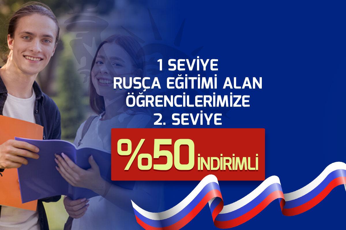Rusça Kursu Kampanyası